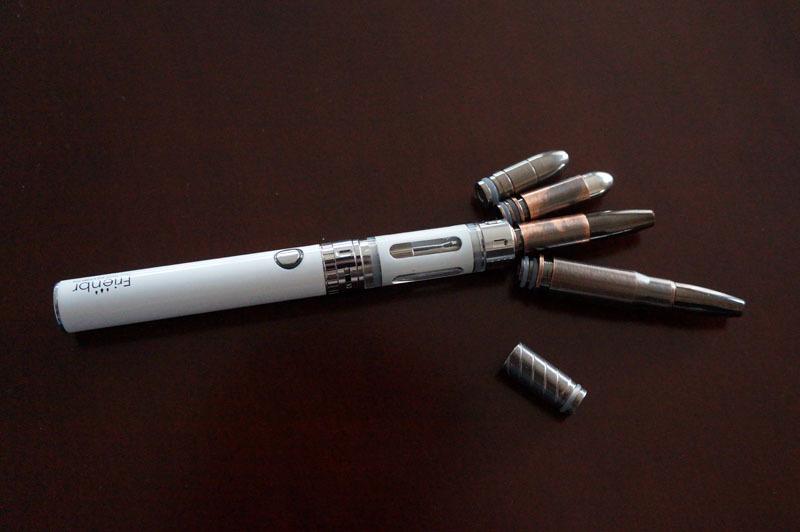 【電子タバコ用ドリップチップ】バレット型ドリップチップ 510型対応 ステンレス製 弾丸 2.JPG