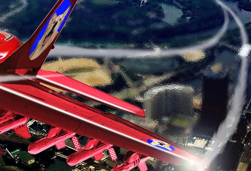 クーちゃんフェラーリで飛ぶ-熱気.jpg