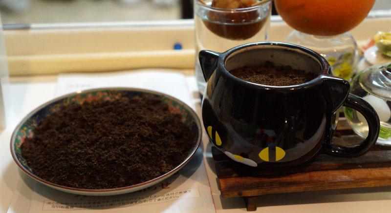 コーヒー 絞りかす.JPG