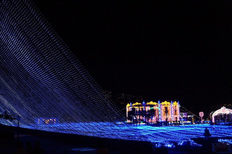 光の王国 世界最大1300万球の光の世界 6.JPG