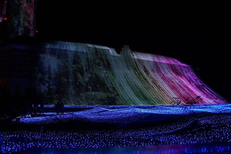 光の王国 世界最大1300万球の光の世界 7.JPG