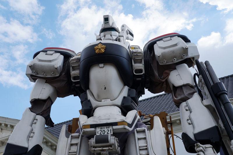 全高約9mの実物大パトレイバー「98式AVイングラム」 5.JPG