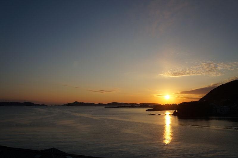 夕陽 海 空 夕焼け.JPG