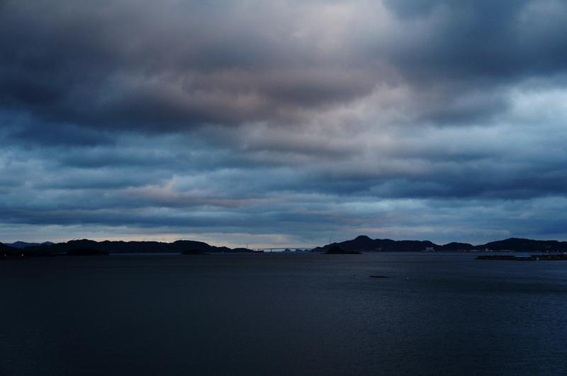 夜の海.JPG
