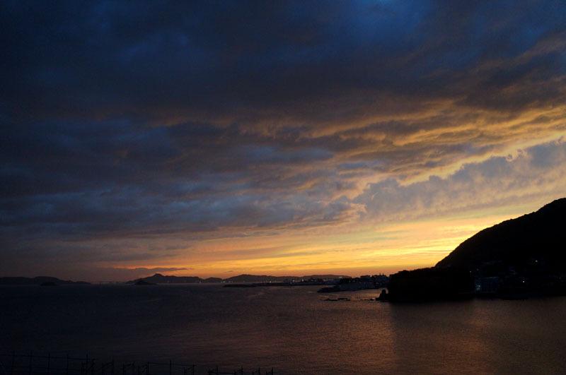 海 空 雲 夕焼け.JPG