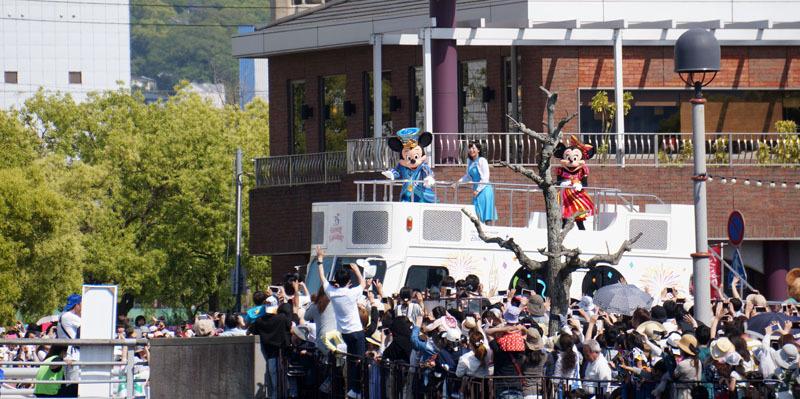 長崎帆船まつり ディズニーパレード 15.JPG