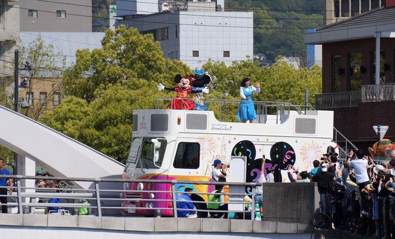 長崎帆船まつり ディズニーパレード 16.JPG