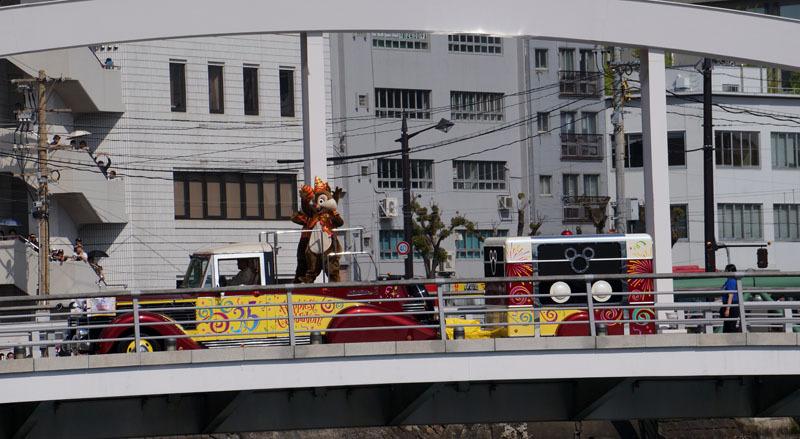 長崎帆船まつり ディズニーパレード 21.JPG