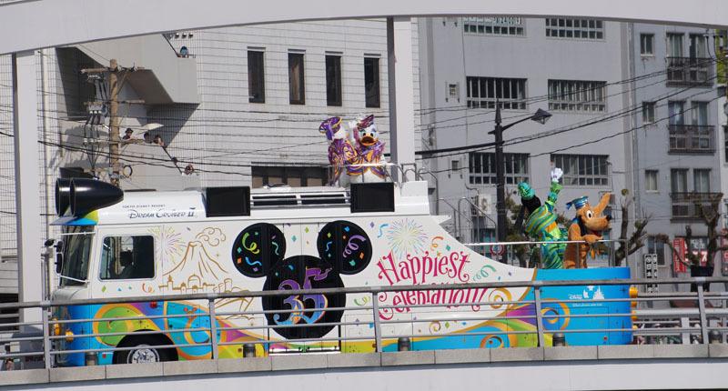 長崎帆船まつり ディズニーパレード 23.JPG