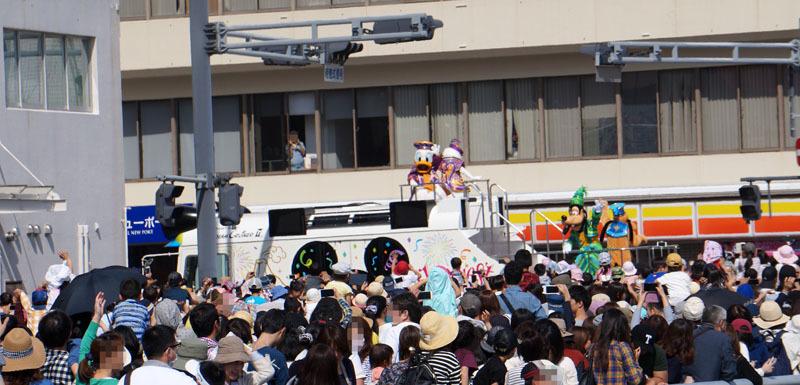 長崎帆船まつり ディズニーパレード 25.JPG
