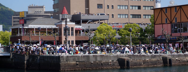 長崎帆船まつり ディズニーパレード 3.JPG