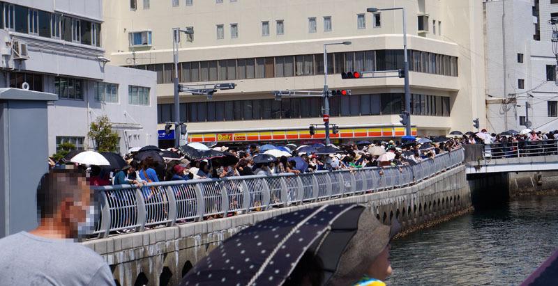 長崎帆船まつり ディズニーパレード 4.JPG