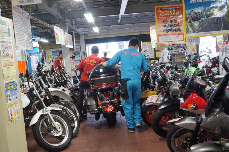 Kawasaki VN1700 VOYAGER ABS 車検 2.JPG
