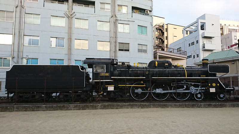 SLと長崎 C57型蒸気機関車 2.JPG