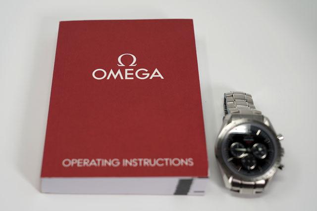 オメガ スピードマスター生誕50周年記念モデル 2.JPG
