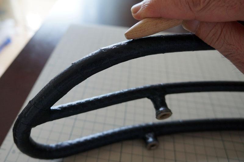 サドルトップトリム カーボンシート 貼り付け-7.JPG