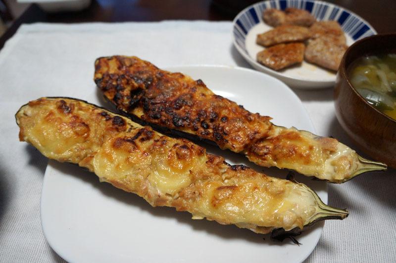 ナスのチーズ田楽.JPG