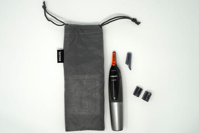 フィリップス 鼻毛・耳毛・眉毛トリマー電池式 2.JPG