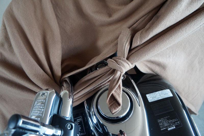 ポカポカ毛布でキズ防止 1.JPG