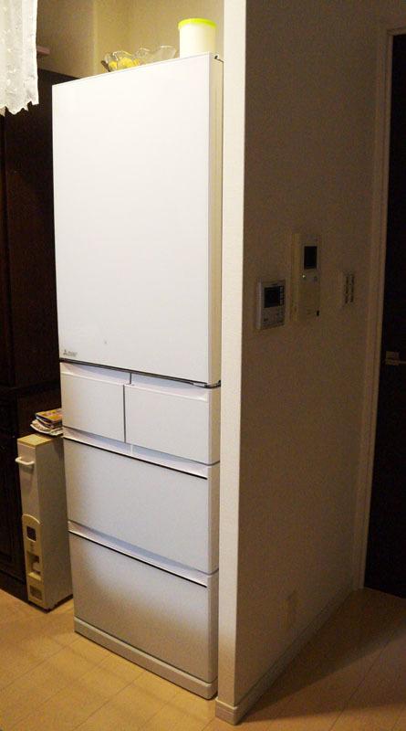 三菱電機冷蔵庫MR-B46A-W 7.JPG