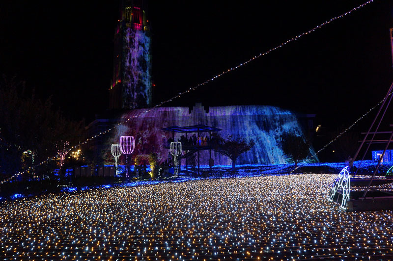 光の王国 世界最大1300万球の光の世界 10.JPG
