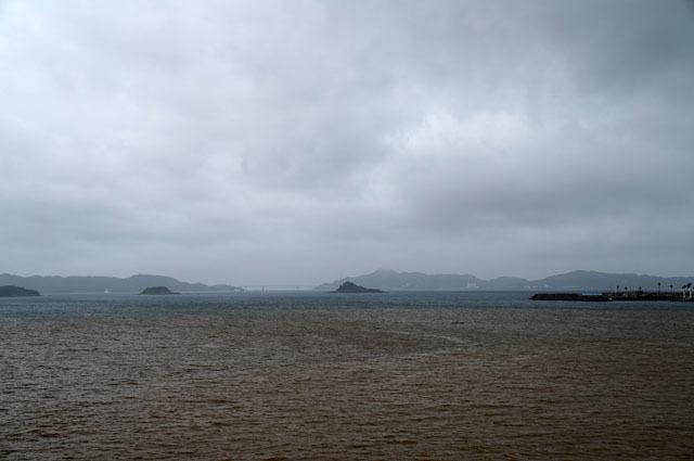 台風通過後の海.JPG