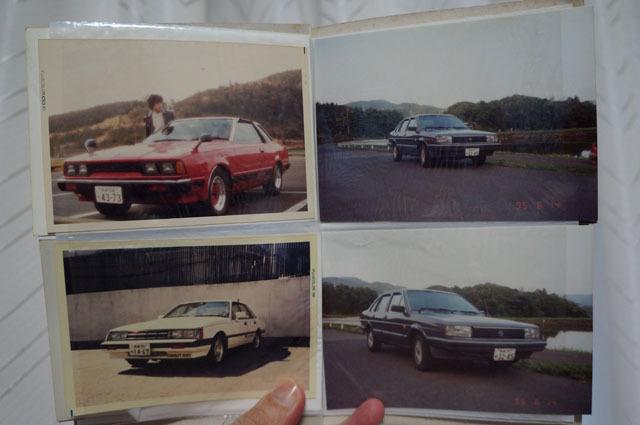歴代の車.JPG