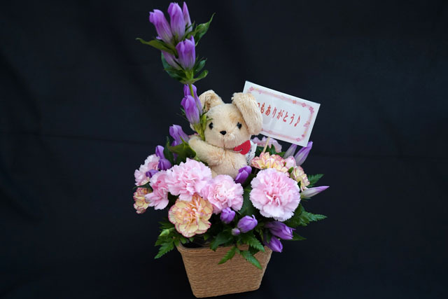 結婚記念日 花の贈り物 (1).JPG