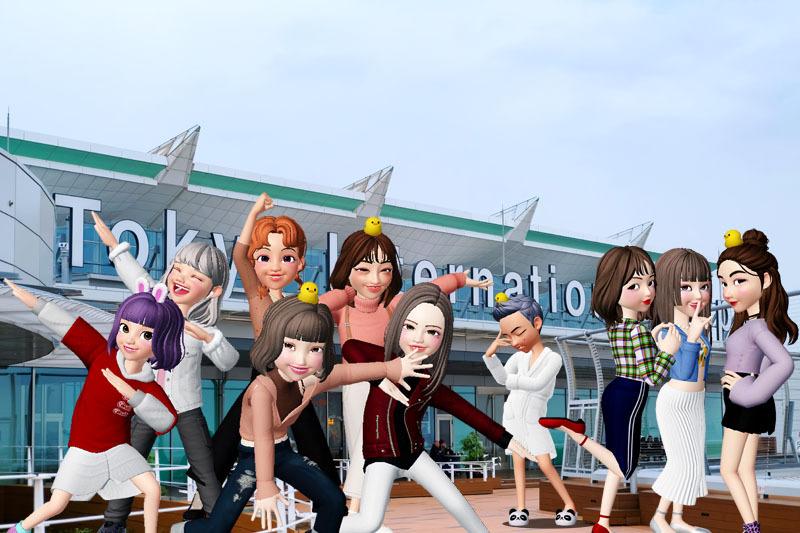 羽田空港に集合、国内線で温泉に行くよ!コーデ800.jpg