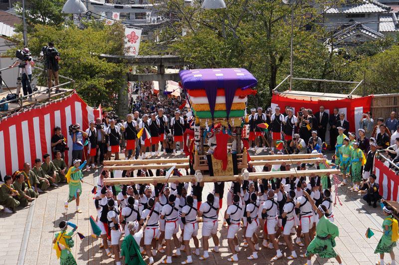 長崎くんち 上町 コッコデショ 7.JPG