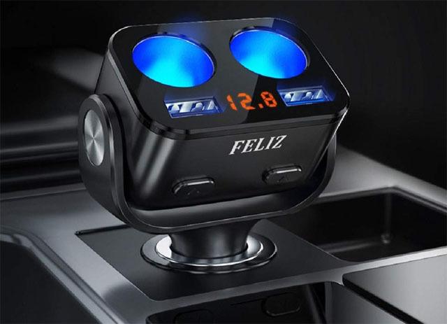 FELIZ シガーソケット USB 2連 (8).jpg