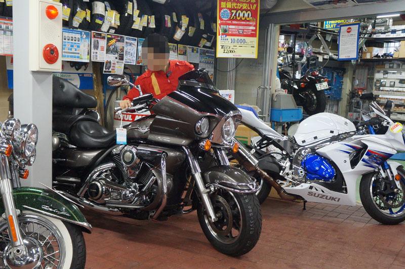 Kawasaki VN1700 VOYAGER ABS 車検 1.JPG